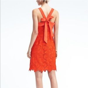 Banana Republic Limited Edition Bow Dress